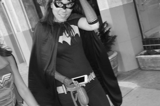 Black and White Batgirl